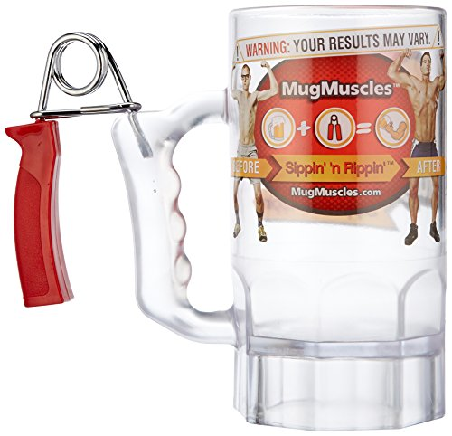 Beer Muscles Exercise Mug Turns Beer Muscles Into A REAL THING